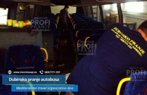Dubinsko pranje autobusa Mediteran Org.