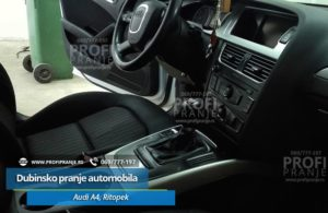 Dubinsko pranje automobila Audi A4