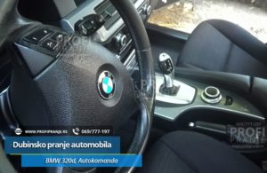 Dubinsko pranje automobila BMW 520D