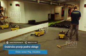 Dubinsko-pranje-Fitnes-centar-Play,-Zvezdara