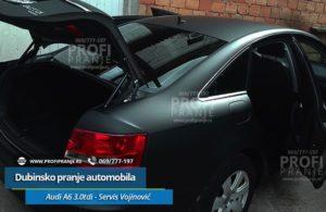 Dubinsko pranje automobila Audi-A6-3,0-tdi - servis Vojinovic