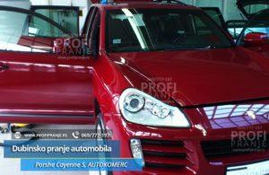 Dubinsko pranje automobila Autokomerc Porshe Cayenne-S