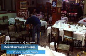 Dubinsko-pranje-enterijera-restorana-Krusevac-u-Beogradu