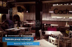 Dubinsko-pranje-namestaja-Restoran-Cache,-Beograd